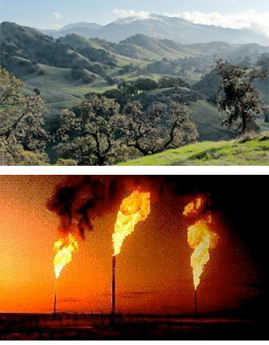 contra-costa-hills-flaring