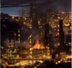 chevron fire 2012, refinery, chevron