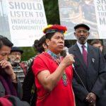 Ecuadorian Indigenous Leaders in Richmond, Sept 27