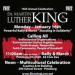 Pittsburg Celebrates Dr. Martin Luther King, Jan 16