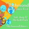 Celebrate Richmond Resilience: Our Power Festival, Aug 12