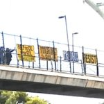Banner Your Love and Outrage, Oct 28