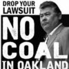 Coal Promoter Tagami for Oakland Police Commission? Say No! ASAP