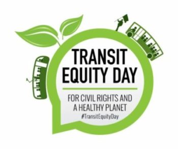 Transit Equity Day Video Townhall @ Your computer