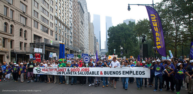 Rise for Climate, Jobs & Justice!    Join the September 8 March, San Francisco