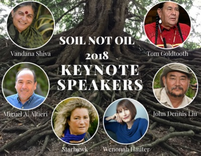 Soil Not Oil Conference @ Grey Area/Grand Theater | San Francisco | California | United States