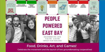 People Powered East Bay—Launch Party @ Impact Hub | Oakland | California | United States