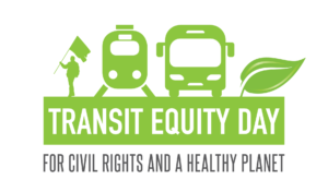Transit Equity Day/Rosa Parks Birthday @ Bus stop in front of Walgreens