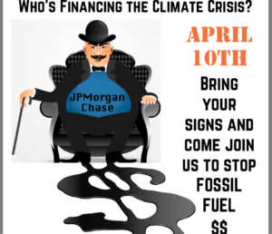 Shut Down Chase, World's #1 Fossil Fuel Banker @ Red Hill Shopping Center