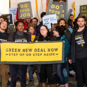 Sunrise Movement Green New Deal @ Barrows Hall, UC Berkeley