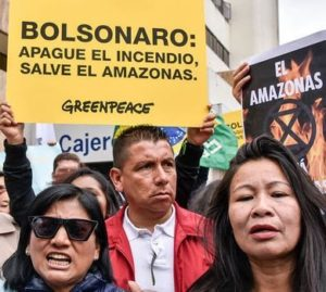 Global Day of Action for the Amazon @ Brazilian Consulate