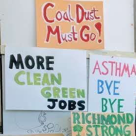 No Coal in Richmond Community Meeting, August 21