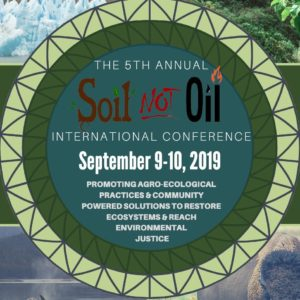 Soil Not Oil Conference @ Grey Area Theater