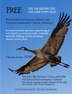 Awakening the Dreamer Symposium @ Unitarian Universalist Church of Berkeley