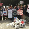 Protest at Chevron's Shareholder Meeting, May 25