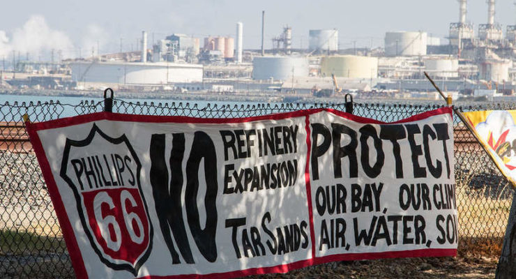 Protect the Bay Coalition Launches!   #TARSANDSFREESFBAY