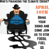 Shut Down Chase, World's #1 Fossil Fuel Banker, April 10