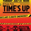 Extinction Rebellion Climate Emergency Action, July 23