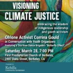 POSTPONED: Visioning Climate Justice, March 28