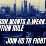 Sign a Petition for the Strongest Refinery Pollution Rule, Testify December 17